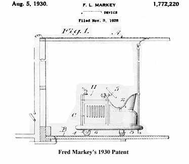 Fred Markey's 1930 Patent